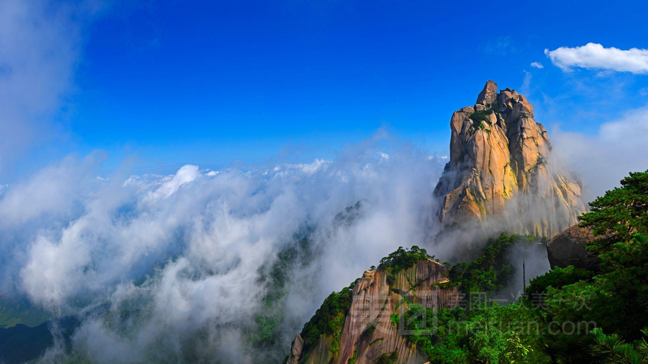 天柱山风景区
