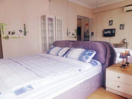 近北京南站一居整租浪漫大床房预订/团购