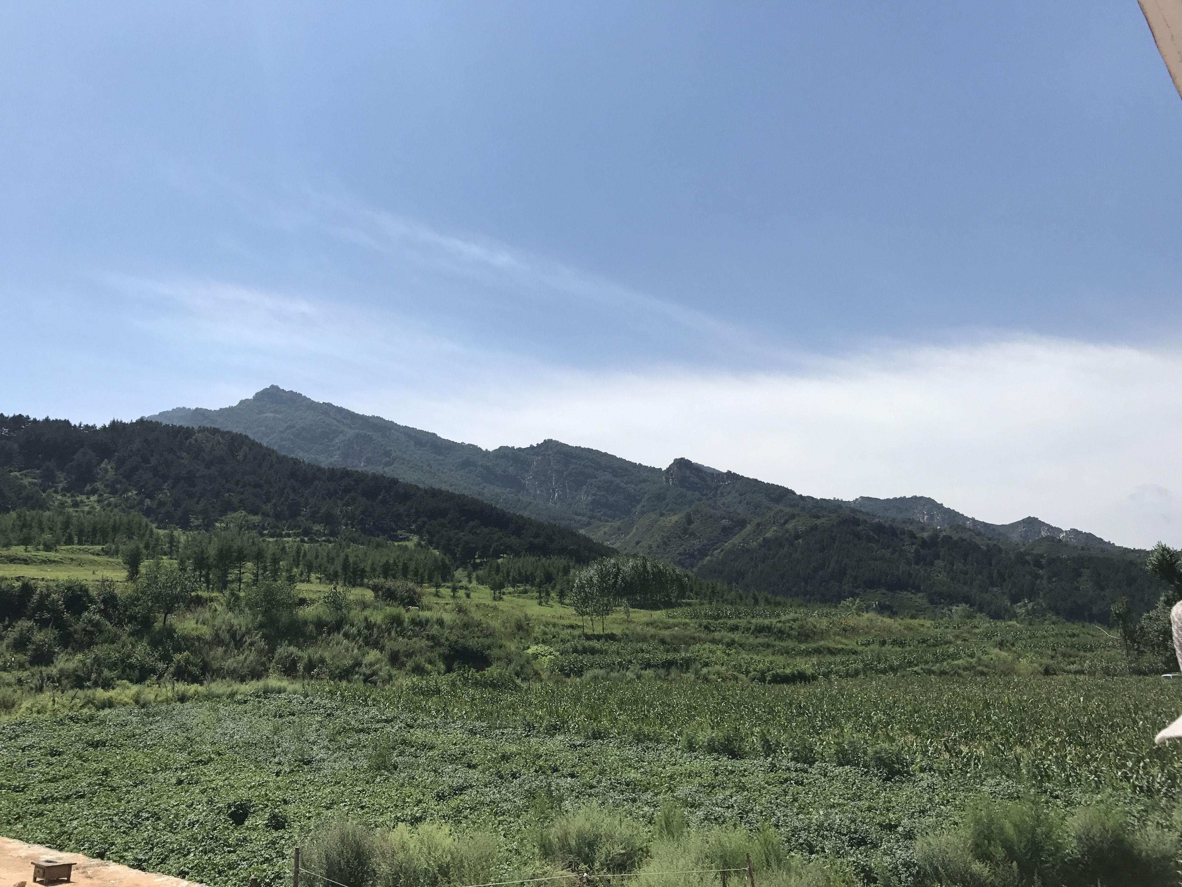山驼梁自然生态风景区