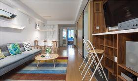 80平米null风格客厅装修效果图