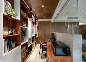 140平米三null风格书房设计图