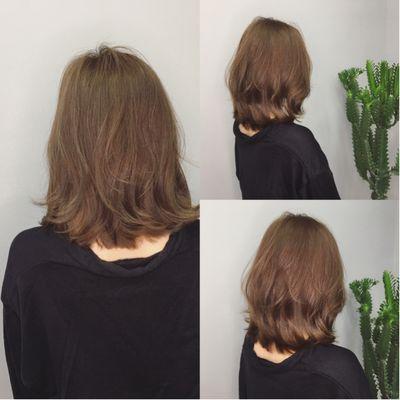 丽人 美发图库 h&m烫发作品图  5282 创意烫发 中发 女图片