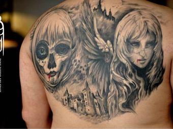 异族纹身Tang Tattoo Gallery刺青艺术画廊