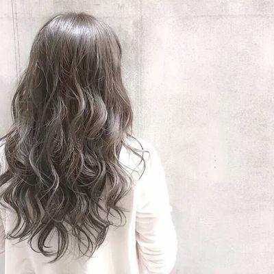 丽人 美发图库 纹理烫发作品图  8798 潮流染发 创意烫发 中发 女图片