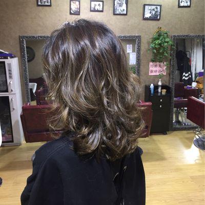 丽人 美发图库 烫发效果图  2191 创意烫发 中发 女图片
