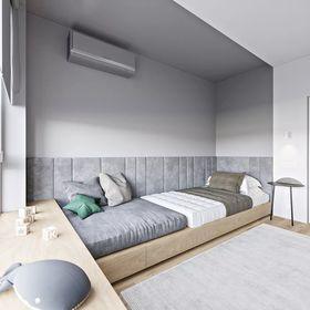 100平米null风格儿童房设计图