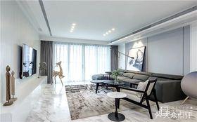 140平米四null风格客厅装修效果图
