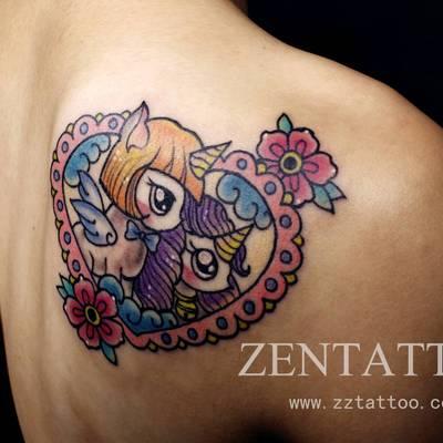 动物纹身图