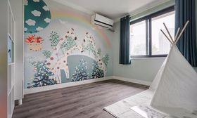 100平米三null风格儿童房图片