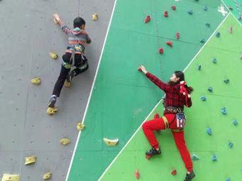儿童少年活动中心攀岩场