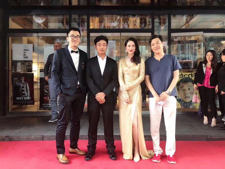 导演许磊率主创出席蒙特利尔国际电影节.jpg