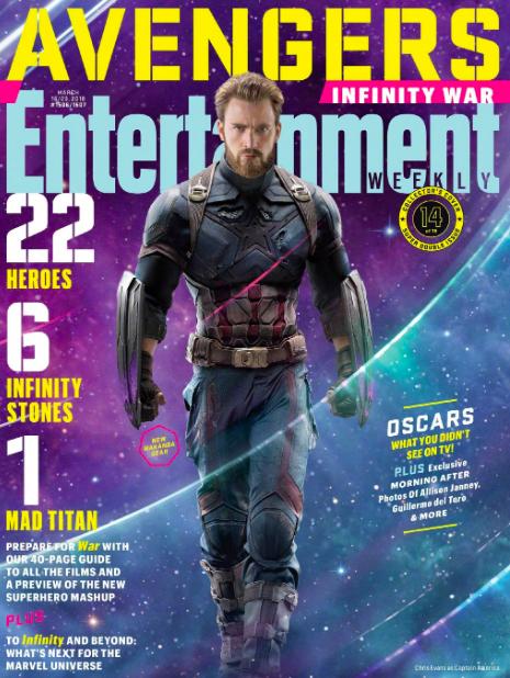 《复联3》是钢铁侠最后战役?众英雄登娱乐周刊封面,22张才装下