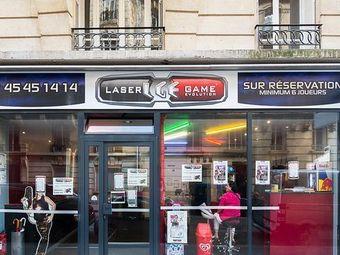 Lasergame Evolution Paris-14