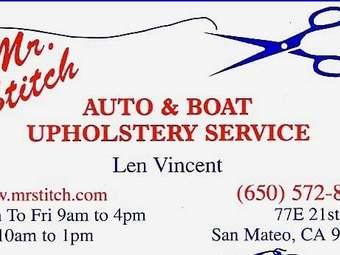 Mr Stitch Auto Upholstery Service