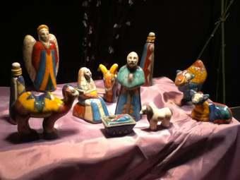 Christmas Creche Exhibit