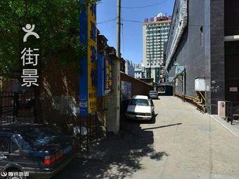 碧海云天酒店停车场