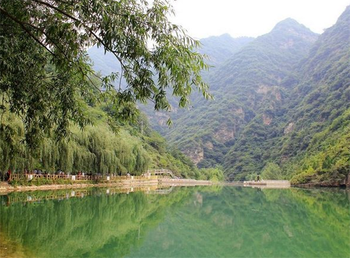 【卢氏县】豫西大峡谷门票+平日漂流票(成人票)-美团