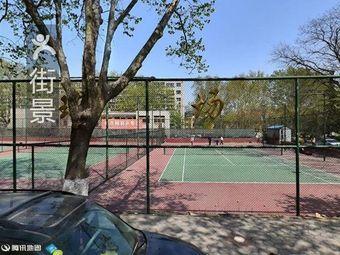 山师大省建网球场