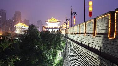 【其它】西安城墙惠民年卡+小雁塔雁园皮影戏 木偶戏 品茯茶(成人票)-美团