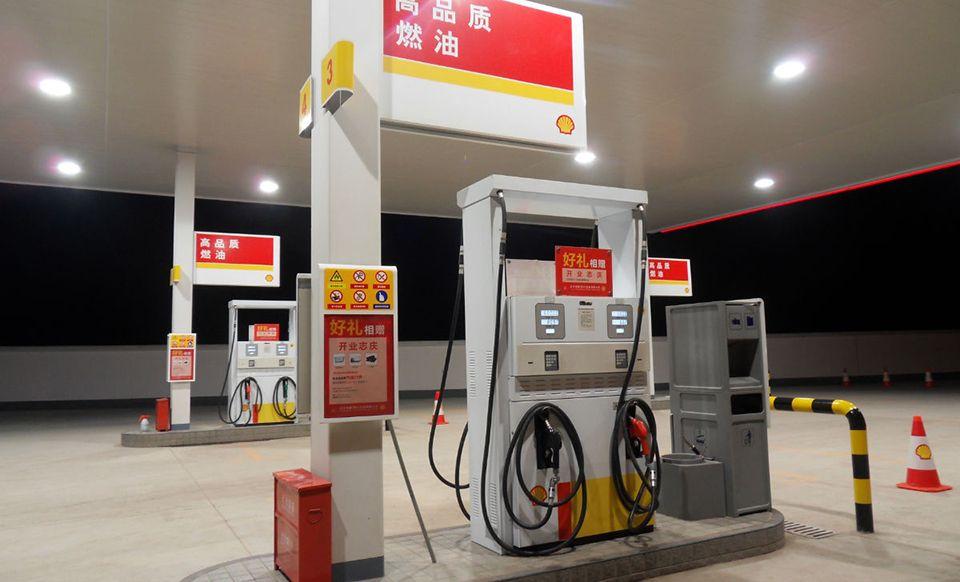 天天石油加油站