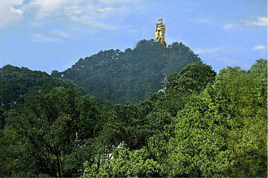 重庆南山风景区地图展示