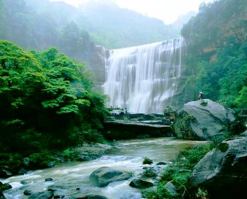 燕子岩国家森林公园-美团