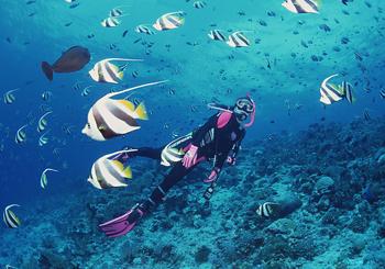【大东海度假区】百乐国际潜水大东海海底摩托(成人票)-美团