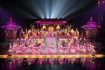 【华清宫】华清池长恨歌舞剧(第一场贵宾B区)成人票-美团