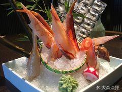 蟹一蟹料理的蟹刺身