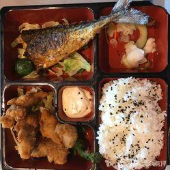 日本鲭鱼鸡肉套餐