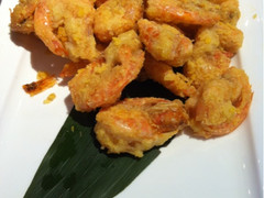 山间堂民间瓦缸煨汤馆(金桥店)的咸蛋黄炸虾