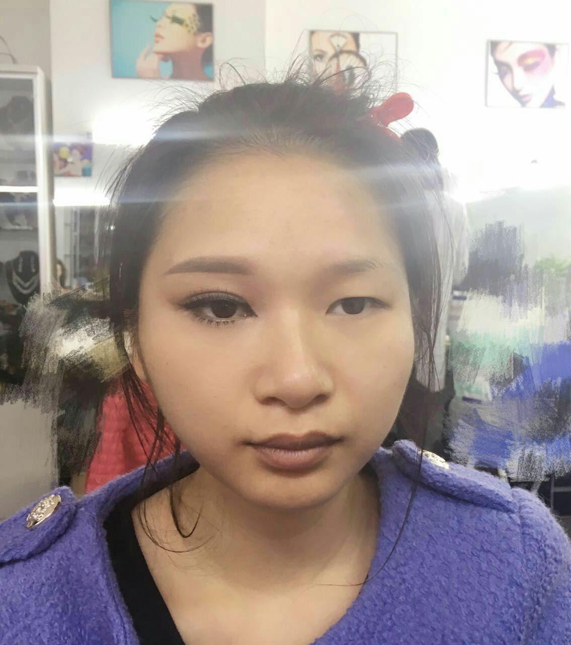 罗曼半永久化妆造型培训学校罗曼半永久化妆造型培训学校 个人日常美图片
