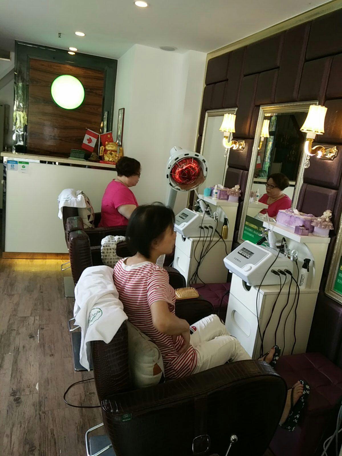 西格尔头疗养发馆西格尔头疗养发馆 白转黑护理 玫瑰精油养发 广州美