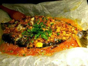 嗨客纸上烤鱼