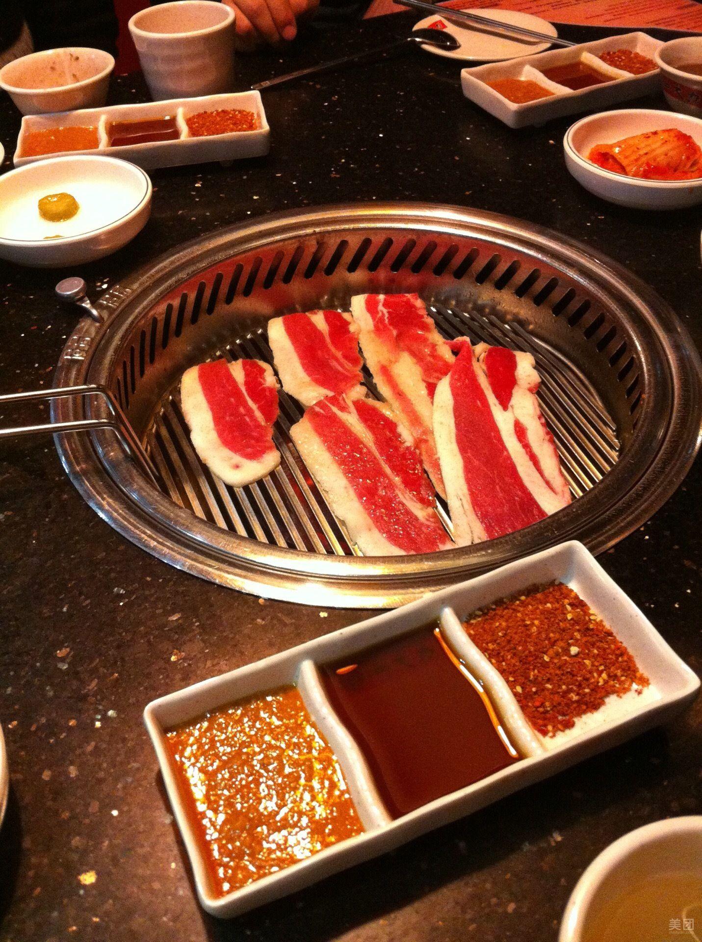 汉釜宫自助纸上烤肉自助火锅