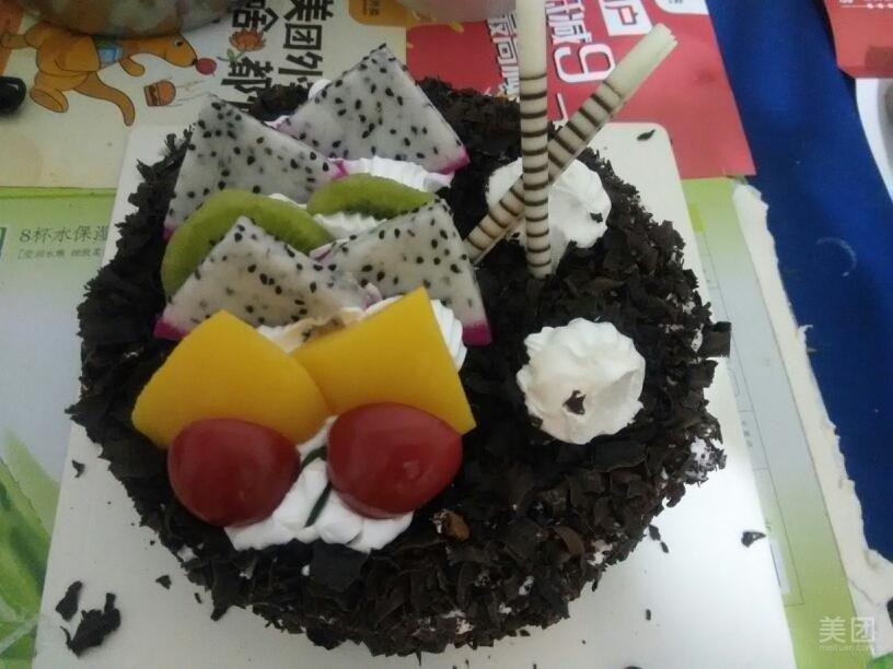 至尊黑森林慕斯蛋糕