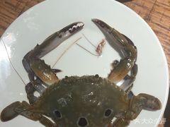 兴烨汇海鲜烤肉自助(中街店)的炸螃蟹