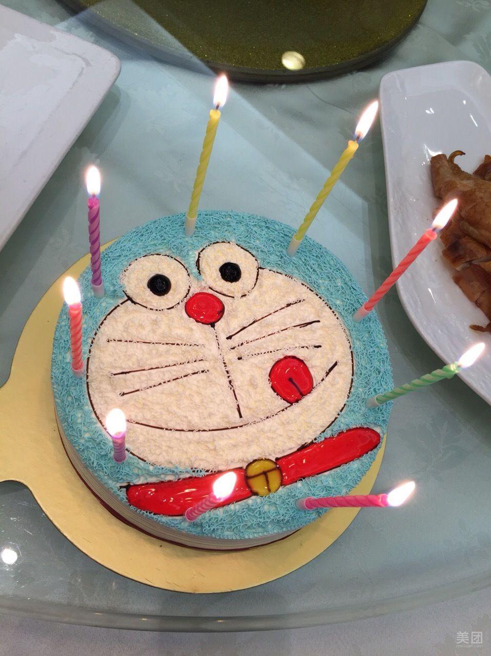 动物奶油蛋糕