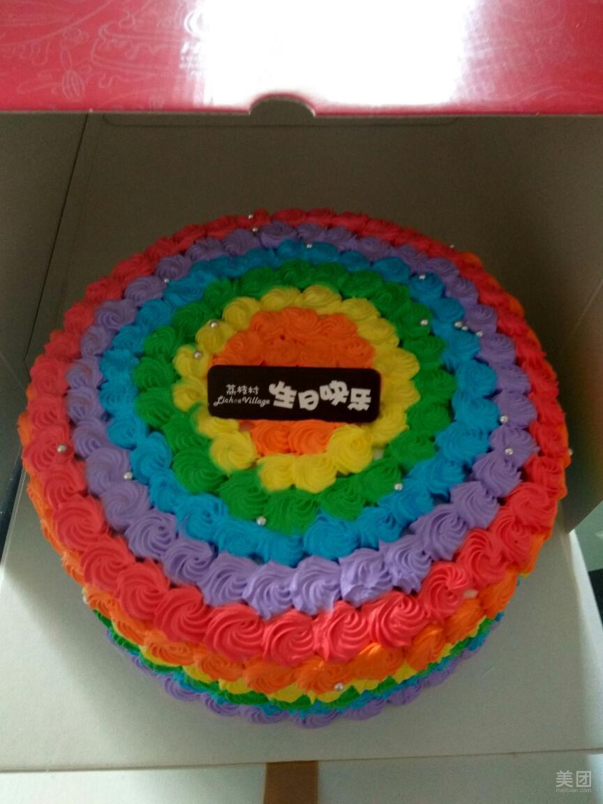 凤凰图案的蛋糕图片