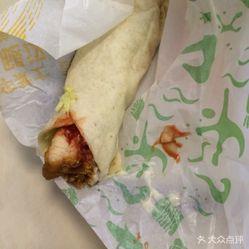 华莱士(肖坝店)的香辣鸡腿堡用户好吃?视频评狂想曲耳朵好不美食图图新大之图片
