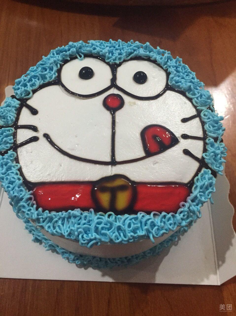 哆啦a梦蛋糕-普罗旺斯极致蛋糕-美团