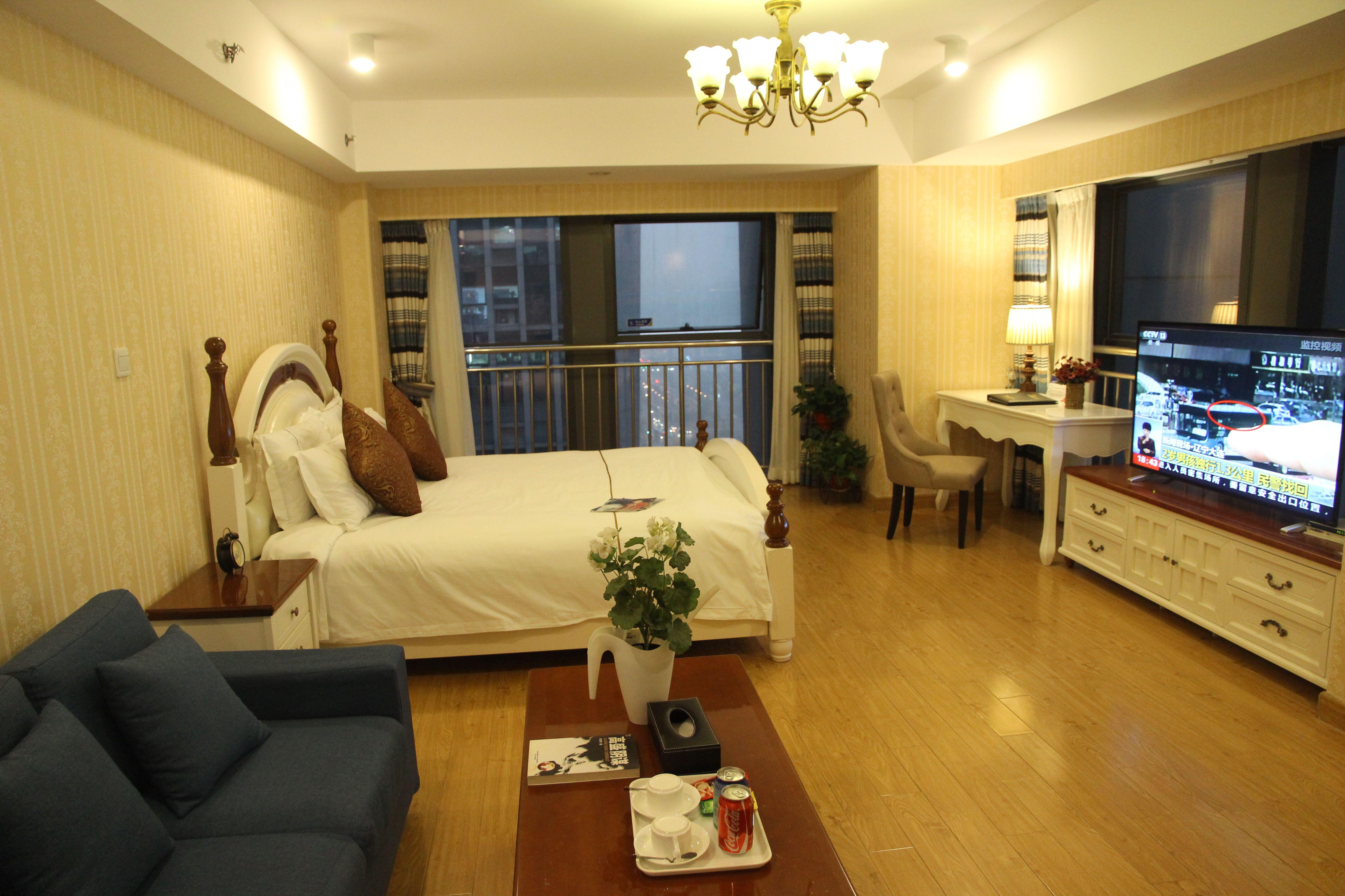 漫辰酒店公寓(河西万达店)预订/团购