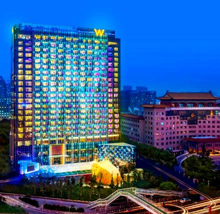 北京长安街W酒店预订/团购