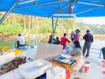 霞湖公园钓鱼场