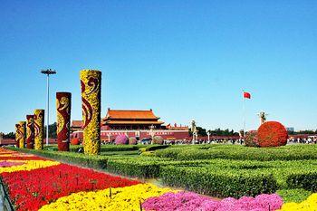 【保定出发】中国国家博物馆、天安门广场、大栅栏纯玩1日跟团游*北京经典文化游!-美团