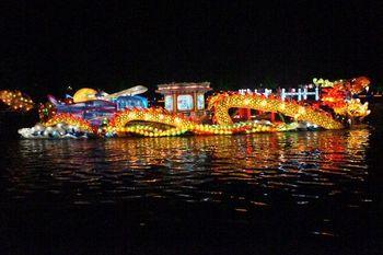 【其它】杭州京杭运河夜游船票+西溪湿地东区门票(成人票)-美团