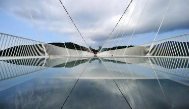【张家界出发】张家界大峡谷玻璃桥、张家界大峡谷1日跟团游*保证上桥+往返交通-美团