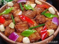 金福源桂林米粉的砂锅排骨饭