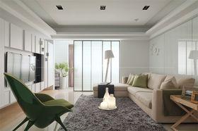 120平米三室一厅北欧风格客厅装修案例