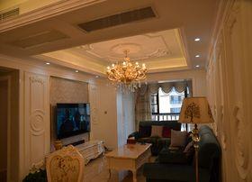 100平米三室一厅法式风格客厅图片